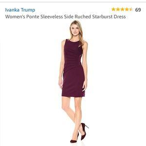 ⭐Ivanka Trump Velvet Purple Dress⭐